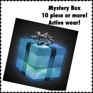 10 PIECE OR MORE ACTIVE WEAR MYSTERY BOX!